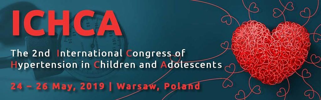 The 2Nd International Congress Hypertension In Children Warsaw 24 To 26 May 2019